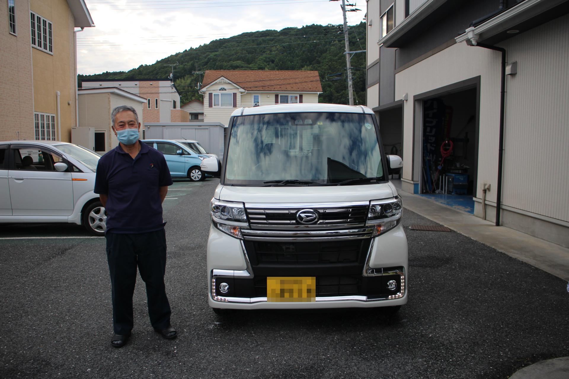 ダイハツ タントカスタム RSトップエディションSAⅢ